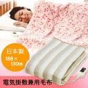 【なかぎし 電気掛敷兼用毛布 NA-013K】【楽ギフ_包装】fs04gm、【RCP】