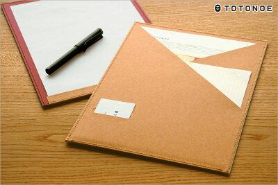 トトノエTOTONOE/CarryBoardキャリーボード(A4サイズ)(TCB00A4)【おしゃれ/デザイン/クリップボード/用箋ばさみ】