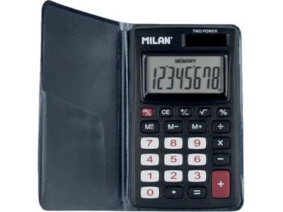 【ミラン 電卓 おしゃれ】ミラン MILAN / 電卓 8桁 (150208KBL)