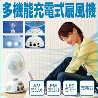 Multi-function rechargeable fan ( rechargeable fan rechargeable circulators radio with LED light LED flashlight discount disaster toy tabletop blackout measures blackout very situation plan blackout turn blackout air circulation machine LED lights AMFM r