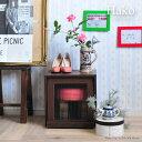 《佐藤産業》Hako ハコフラップ ブラウン ボックス 組立 家具 シャビー アンティーク 棚 キャビネット チェスト チェスと おしゃれ お洒落 箱 キューブボックス CUBU BOX ha39-39f-br