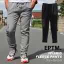 エピトミ EPTM スウェット パンツ メンズ裏起毛 無地 ボトム ジャージ カジュアル ストリート ファッションHYBRID FLEECE PANT ハイブリッド フリース ブラック グレー EP9290 EP9294