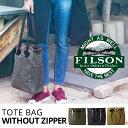 Filson トートバッグ バッグ TOTE フィルソン メンズ鞄 Without Zipper キャンバス ジッパーなし
