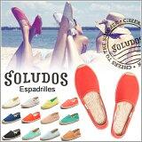 【】SolDOS Espadrille soludos 鞋女士达利esupadoryu 降半音懒汉鞋凉鞋旅游鞋sol-01[【】ソルドス エスパドリーユ soludos シューズ レディース ダリ エスパドリュー フラット スリッポン サンダル スニーカー sol-