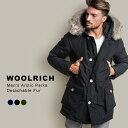 ウールリッチ ダウン アークティックパーカ メンズ Woolrich Arctic Parkaダウンジャケット コート アウター ダウンコートリアルファー