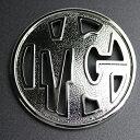 【メーカー取り寄せ】マーテルギア ビースト オーナメントエンブレム(MGマーク)カラー:ブラック / ブラッククローム 4個/1台分