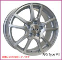 【ホイール1枚】【輸入車用】APS Type VII 16×6.5 PCD108/4H +45 ボア径:63.4(専用)カラー:シルバー[エーピーエス タイプ:V2]★フォード