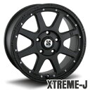 【送料無料】【ホイール1枚】XTREME-J 18×8.0カラー:フラットブラック[エクストリーム-ジェイ]