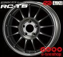 ENKEI(エンケイ) ENKEI Sport RC-T5 16×6.5J PCD100/4 +45 ボア径:75φ カラー:ダークシルバー 【エンケイスポーツ RC-T5】 注)ホイール1枚です
