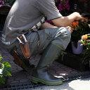 こだわりガーデニンググッズエスイズ/男性用ガーデンブーツ・ダンディライオン