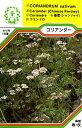 【メール便可】ハーブ・西洋野菜の種 「コリアンダー」