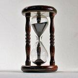 誤差が少ない砂鉄を使用した「職人の手作り砂時計(2分計)」金子硝子