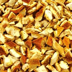【ネコポス対応商品】 使いやすい小袋パック♪ 「オレンジピール・ビター(果皮部)」 30g リーフタイプ シングルハーブティー