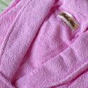 バスローブ ピンク  フリーサイズ
