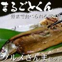 静岡県産 沼津の干物【ひもの】 【まるごとくん】サンマ【送料...