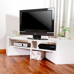お部屋とTVに合わせて伸縮テレビ台 VEEO ローボード