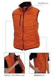 【BURTLE】【バートル】4030防寒ベスト作業服メンズ