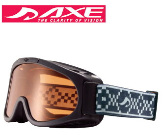 AXE (axe) by the year 2015 model junior goggles AX22O-ST BK Black × Orange