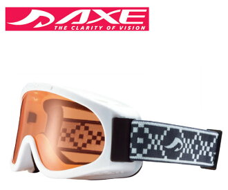 AXE (axe) junior goggles 2014 model AX220-ST WT white × Orange fs3gm