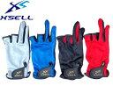 X 039 SELL(エクセル) CF-670 3本指なしグローブ 手袋釣り フィッシング用