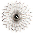 Vitra(ヴィトラ)「Sunflower Clock(サンフラワー クロック)」バーチ