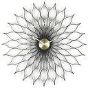 【ポイント10倍!】Vitra(ヴィトラ)掛時計 Sunflower Clock(サンフラワー クロック)ブラックアッシュ/ブラス