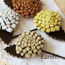 持つだけで温かい気持ちになれるハンドクラフト調の小物雑貨を展開するブランドkanmi.の本革ヘアアクセサリー。