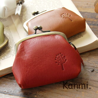 Cute plump rounded form cowhide leather