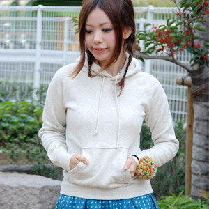 Soft touch 100% cotton every day ringtone want to get it! Made サンテテ and material boasts simple parka! Large pockets accent ◆ Saintete: フードスウェットウォームプル over