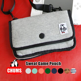 Nintendo 3DSLL fits easily enough! In the digital camera case mini Pochette recommended. Can also shoulder bags and hip bag filling with ユニセックススエット soft case ◆ CHUMS ( chums ): sweatshirts game pouch