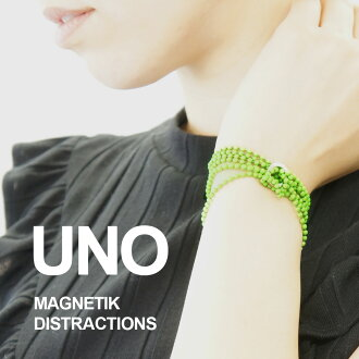 From NEW YORK! New York modern art museum MOMA enjoyed endless arrangements by buzz ball chain and magnet accessories ♪ tried ring your creativity, such as necklaces, breath ◆ UNO MAGNETIK DISTRACTIONS