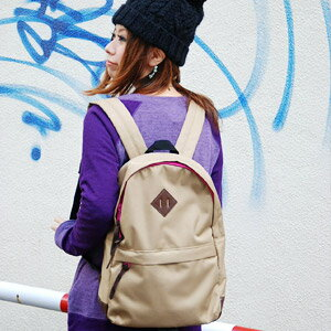 There is no color balance any further! An inside pocket recommended a colorful zipper and partial fake leather an accent as for the unisex rucksack having it for commuting & attending school out of ♪ and the bag of the enhancement function including the gusset are ◎◆ アネーロリュックサック for a daily trainer