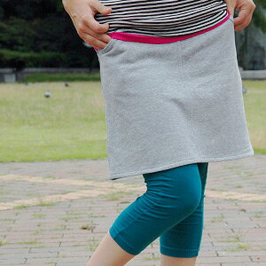 An active girl is unmissable! Simple our store original sweat shirt skirt which it is possible, and is not readily found! Trapezoid miniskirt ◆ Zootie (zoo tea) where the vivid color was enriched: Casual plane sweat shirt skirt