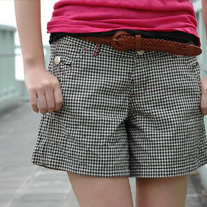 Killick and gingham--shorts Culottes type I was enjoying the オトナマリン style in activated ♪ pink stitching and fine detail your bottoms obsessiveness ◆ Betty Smith ( bettismith ): マリンチェック shorts