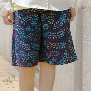 The short pants that a colorful paint flower gets a lot of looks! The unisex bottoms that bring on a slightly fantastic atmosphere performed batik of! Half underwear ◆ Gramicci (グラミチ) where is most suitable for the OUTDOOR and sports scene: BATIK PRINT G
