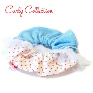 Pop a heterogeneous material... the MIX pink dot cotton towel fabric colors! Alone on the wrist is volutmushsch strong presence of her pony! ♦ Curly Collection: chouchou