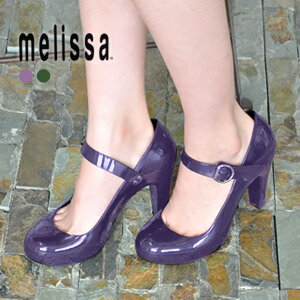 30614 classical rubber import temptation 2 SP accessory simple AD shoes shoes Womens cute fashionable store Rakuten [melissa: won strap rubber pumps