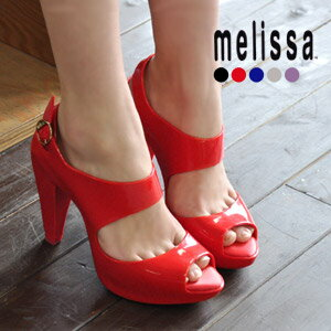 Solid platform high heels ♪ beauty legs effect excellent / shoes and thick bottom and Platform /SP/AD / Amazonas / import / rubber / 30569 / shoes / shoes ◆ melissa (Melissa officinalis): バックストラップハイヒール rubber sandals from AMAZONAS]