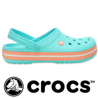The new standard clock band crocs sole with a sporty line! Baya ( Baya ), cayman (Cayman) to back strap with steel cross light slip-on sandals! From M4/W6 (22 cm) M10/W12 (28 cm) ◆ (crocus) crocs crocband