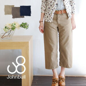Vintage odd balance it jobs-length wide pants! サイドシームレス offers a beautiful line.-7-length /EARLY: WORK PANTS-cotton 100% Japan-◆ Johnbull ( jumble ): アーリーワーククロップドコットンバギー pants [AP025]