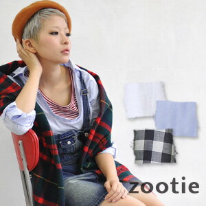 Gaping slit neck in my cover flow dressed to enjoy the shirt. Casual and clean because even simple shirts can be used! Fresh gingham check pattern or white & blue plain, choose from 3 types! 100% cotton ◆ Zootie ( ズーティー ): クレアスキッパ�