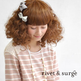 Change a shoulder of the simple horizontal stripe one piece in a gentle lace material; ◎ traditional fashion boom / knee length / knee-length / long sleeves ◆ rivet and surge (rivet and serge) with the badge: Flower race shoulder sweat shirt horizontal stripe one piece with the ribbon broach