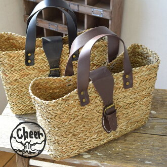 """As opposed to fake leather was used to handle belt with natural seagrass has a good spice. Goodie bags to the casual code easy to have! Natural materials / basket / bag / satchel / bag /BAG ◆ cheer ( cheer ): バックルベルトカゴ bags"