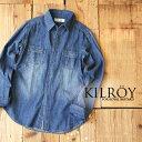 ファッションだけに留まらずライフスタイルそのものを提案するセレクトショップKILROYの男性用デニムシャツ。