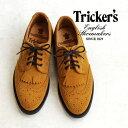最高級の素材のみを用い、伝統を重んじた手法で靴を作り続けているトリッカーズ社のFull Brogue Derby Shoes!
