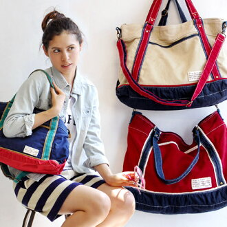 Alongside I feel tame and this colorful canvas shoulder BAG! In the thickness of 2 types of different fabric color scheme design, Multistate bag and used style can be used as a shoulder, angled seat and hand bag / also ◆ マルチカラーウォッシュ canvas 2-WAY shoulder