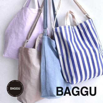 A natural basic color development, such as pounding, flashy colors unisex shoulder bag to color cotton canvas material. Come with 2-WAY design • / gender unisex / plain Tote ◆ BAGGU (bag) :DUCK BAG