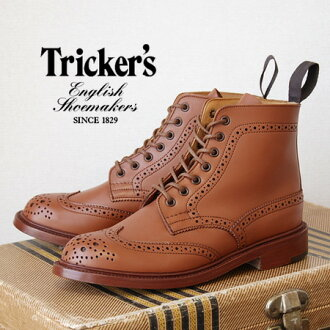 7 Eyelets and outsole Welt, GIMP etc...apartment department is another note order the wing tip standard model / sandal / ladies /4.5/5.5/6.5/ genuine / import /L2508 / spring boots ◆ Tricker's ( trickers ) country boots [C-SHADE]