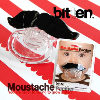 Makeover CHOW becomes a respectable gentleman just chew a mustachioed sucking! man you can give children regardless of boy & girl, funny! because the maternity and private with cover / baby gift / unisex / baby / newborn toys beard / moustache / ◆ bi