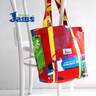 Pop, colorful Hawaiian-born surf bags. The presence in and truly feel the tropical pattern fabric proud men and women for both over the shoulder gusset BAG / Surfline Hawaii /Surf Line Hawaii / shawl / mens / Womens /S-TOTEBAG-31 ◆ Jams ( James ) TOTE BA